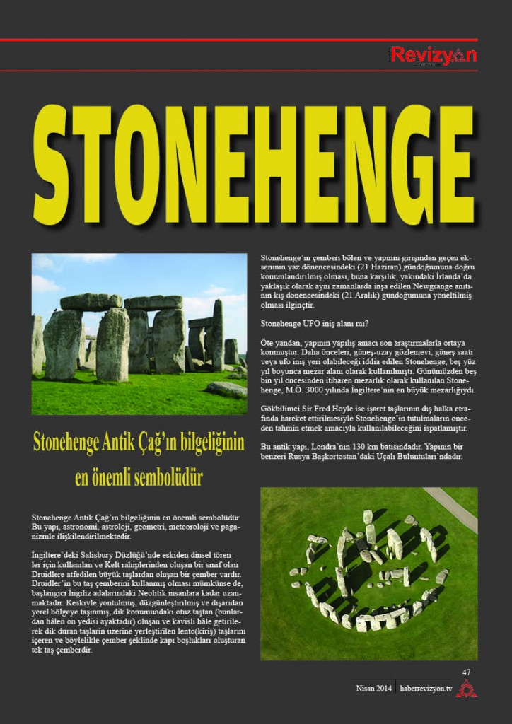 Haber Revizyon Nisan 2014 stonehenge 2
