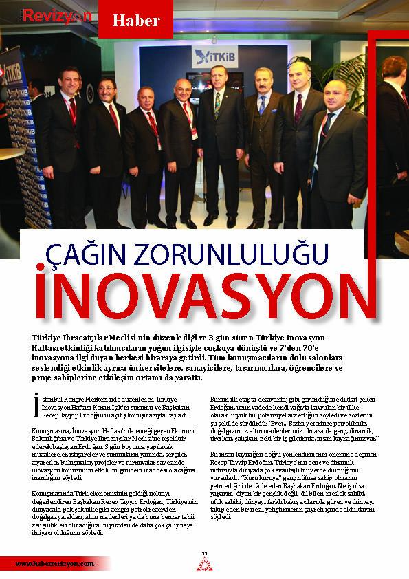 Haber Revizyon 2013 ocak inovasyon 1