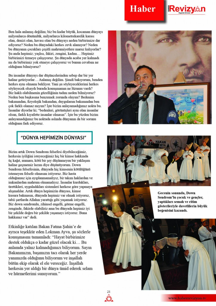 haberrevizyon nisan 2013 down sendrom beyazay 4